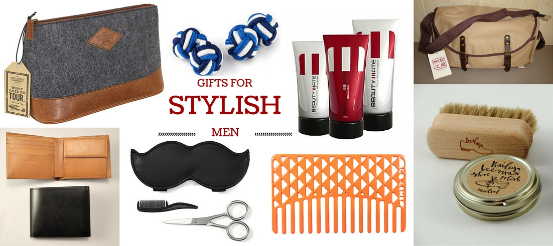 Men's grooming and accessory gifts