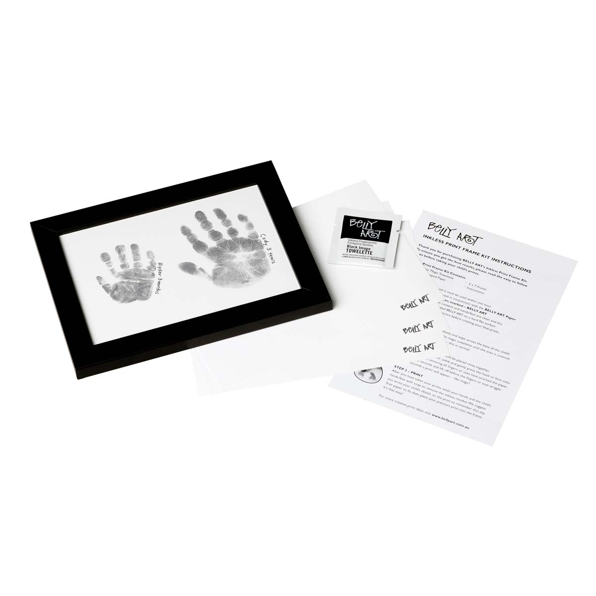 Belly Art Framed inkless print kit