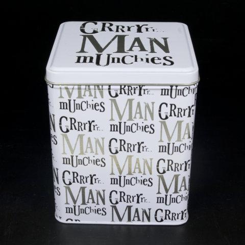 Man Munchies Tin