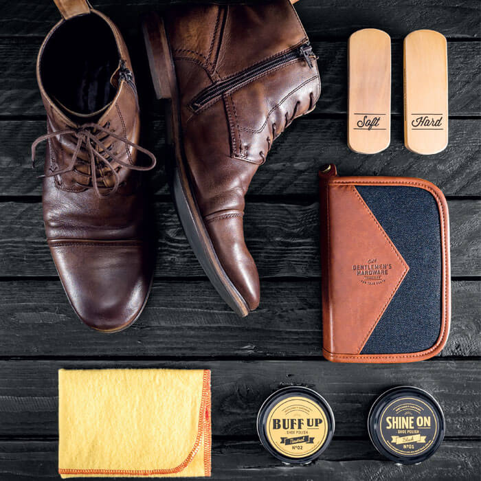 Refinery Shoe Shine Kit