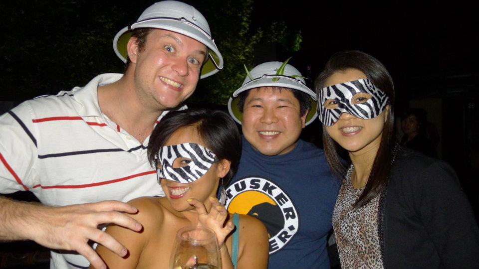 Party pics: Tommy, Quan, Paul & Nicha!