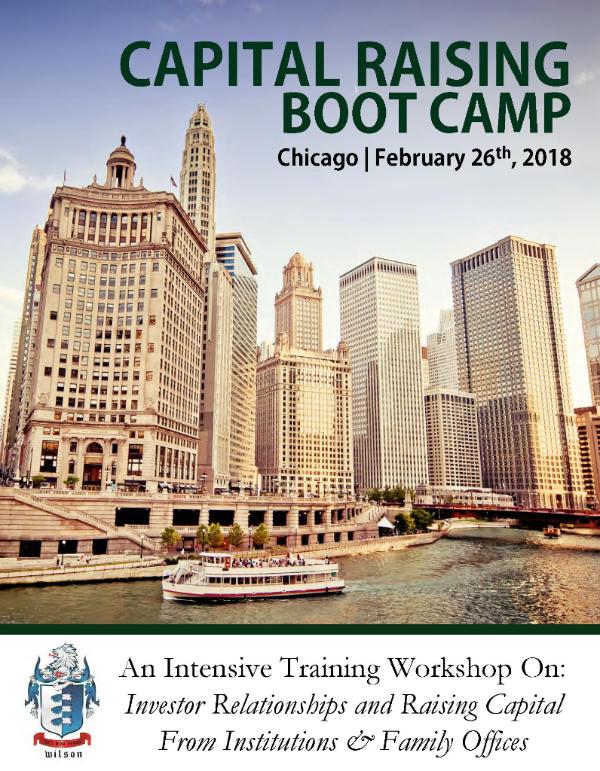 Capital Raising Boot Camp - February 26, 2018