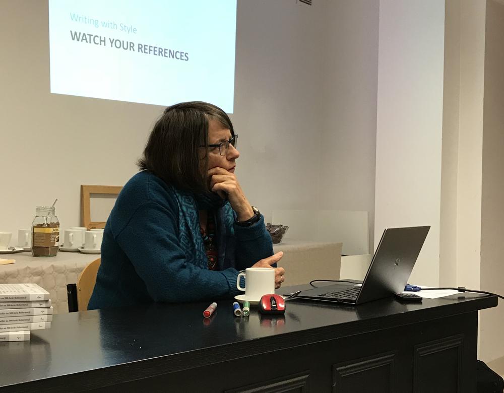 Langham Partnership Editor Isobel Stevenson