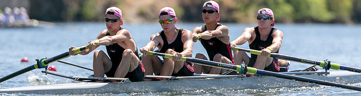 Photo: Rye Crew's MY4+ at 2014 Youth Nationals