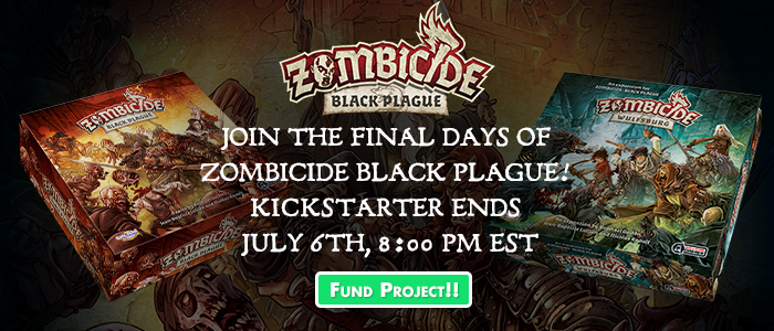 Zombicide: Black Plague Final 24 Hours!