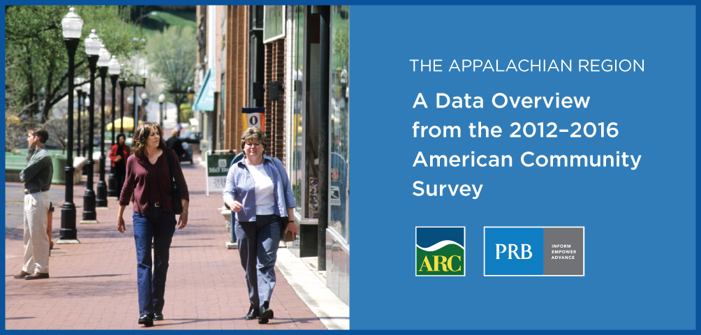 The Appalachian Region: A Data Overview from the 2012-2016 American Community Survey