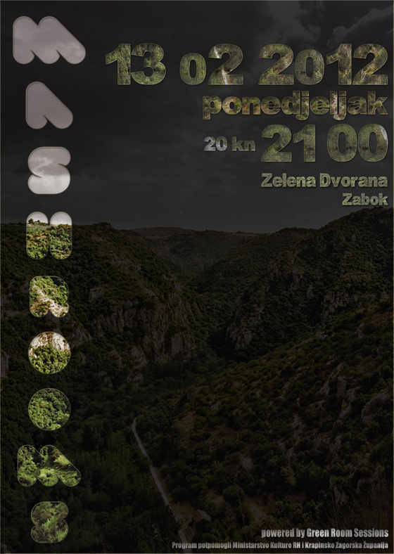 Mashrooms. @ Zelena dvorana, Zabok