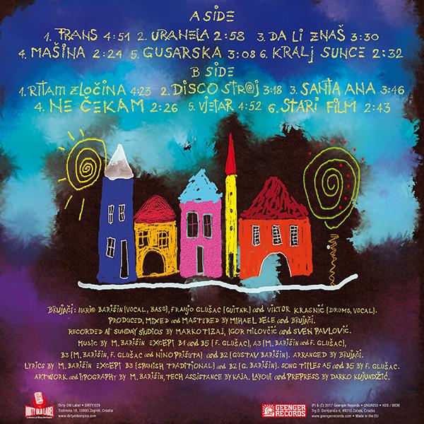 Brujači - Ladanje - back cover