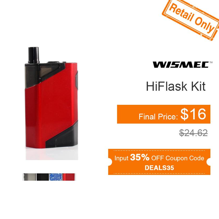 Wismec HiFlask Starter Kit
