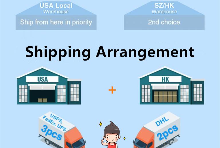 Shipping Arrangement
