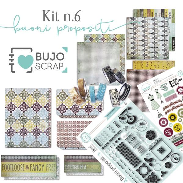 BujoScrap Kit N.6