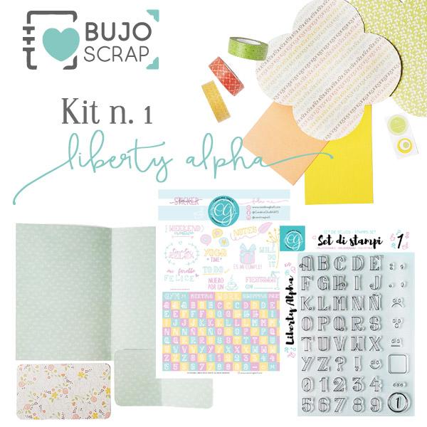BujoScrap Kit N.1