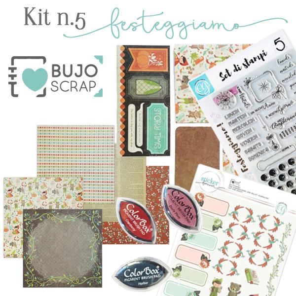 BujoScrap Kit N.5