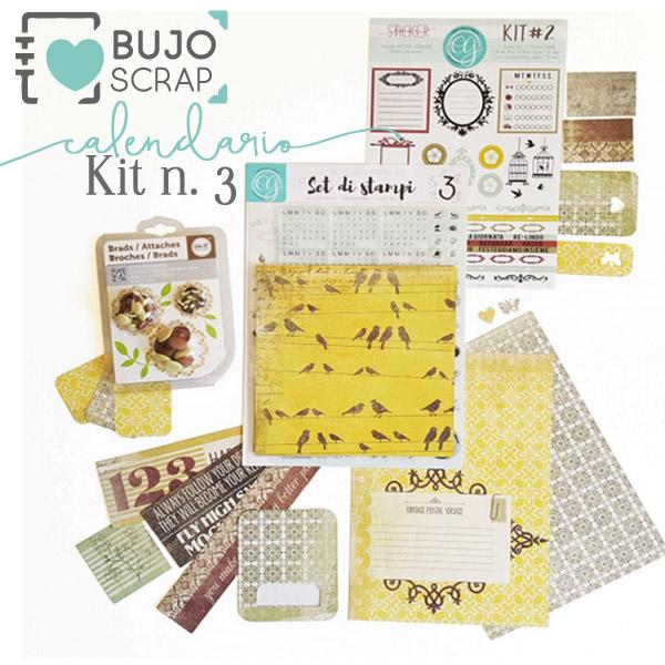 BujoScrap Kit N.3
