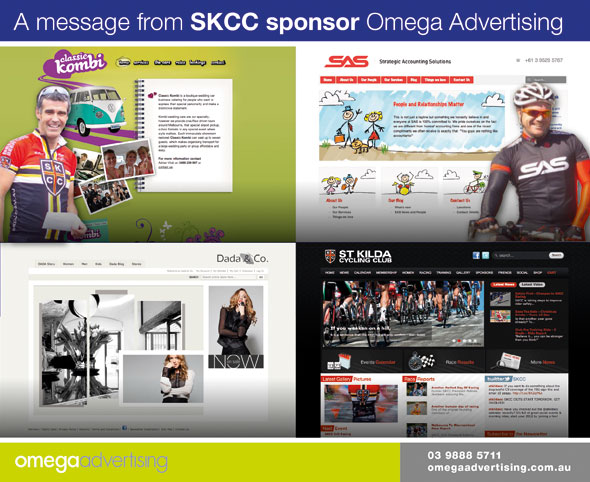 A Message From Club Sponsor – Omega Advertising