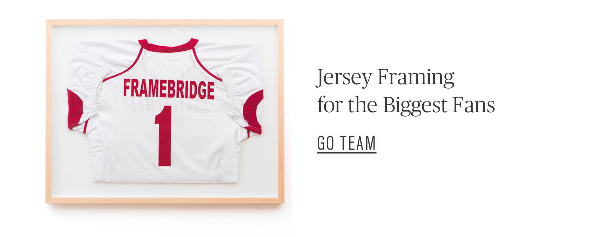 Jersey Framing for the Biggest Fans