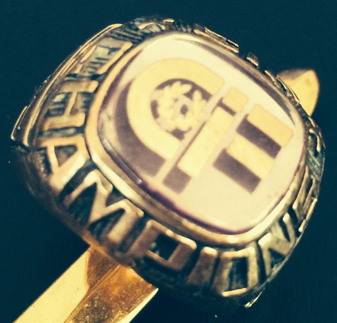 CIF 1993 Basketball Championship Ring