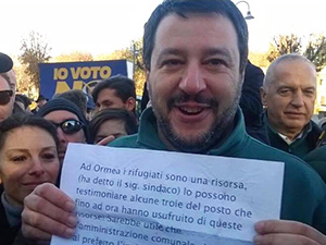 Salvini le donne di Ormea
