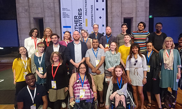 A group of IETM delegates