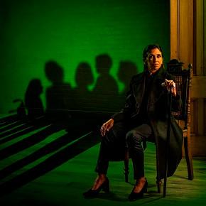 Production shot for Graeae's The House of Bernarda Alba