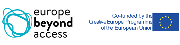 Europe Beyond Access and EU Creative Europe logos