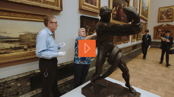 Touch Tour at Tate Britain