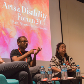 Arts and disability forum panel debate