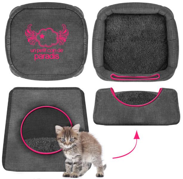 Maison caseta cuna para gato