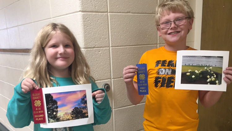1st and 2nd place photo contest winners