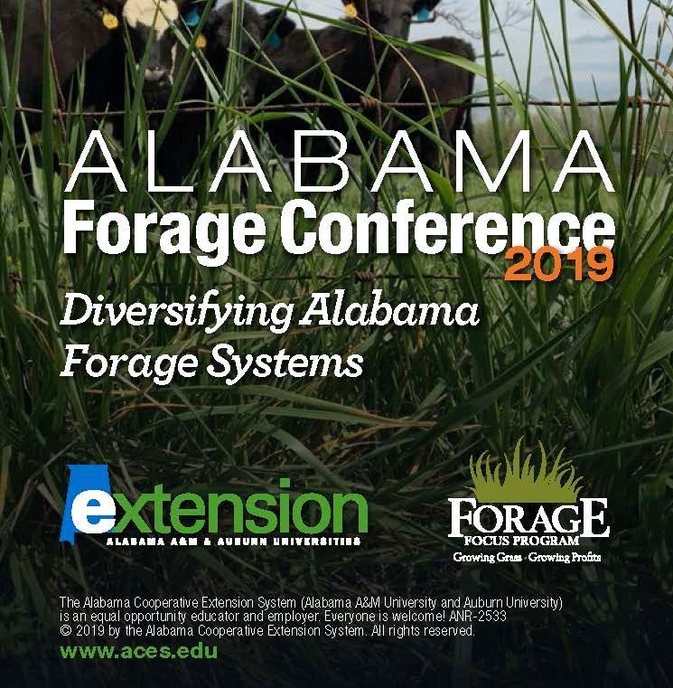 Alabama Forage Conference info