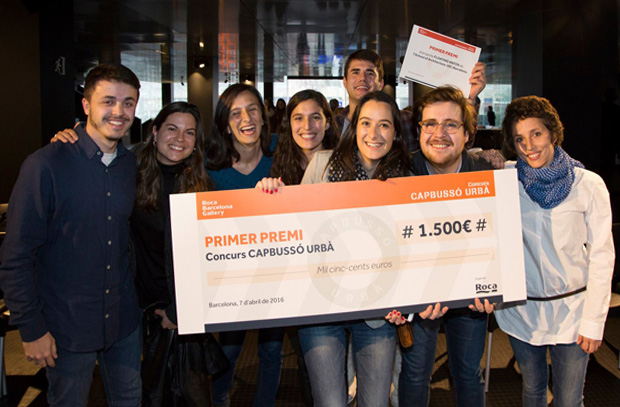 Winners of  the Urban Plunge competition