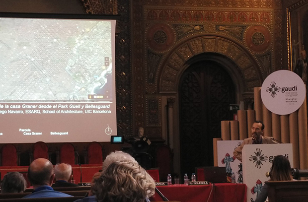 Lecturers from the UIC Barcelona School of Architecture take part in the Gaudí Second World Congress