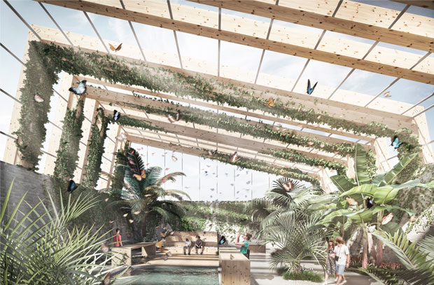 Maria Cerdà's Butterfly Landing project, selected as finalist for the YTA Award