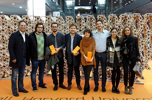 Students from the Barcelona Ceramics Chair