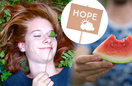 Hoffnungsvolle Beispiele