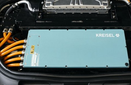 Kreisel: Batteriesystem für Elektroautos