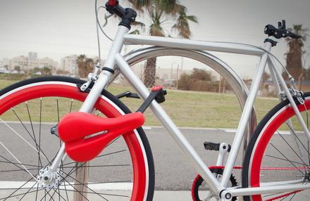 Seatlock: revolutionäres Fahrradschloss