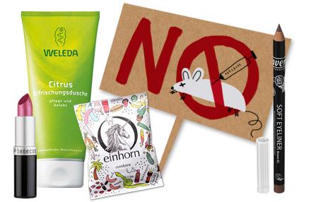 Tiervsuchsfreie Kosmetik: Marken
