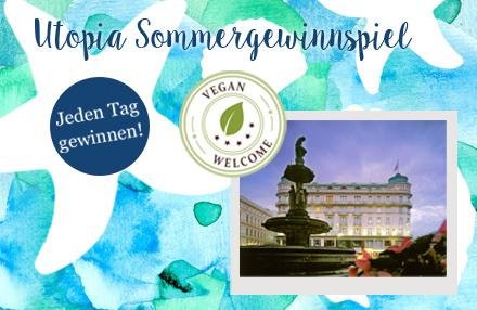 Utopia Sommergewinnspiel: Vegan Welcome