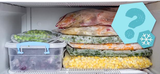 Lebensmittel, die du nichteinfrieren solltest