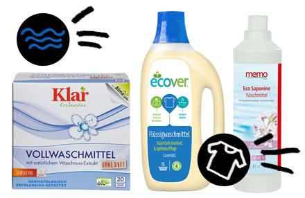 Bestenliste Bio-Waschmittel
