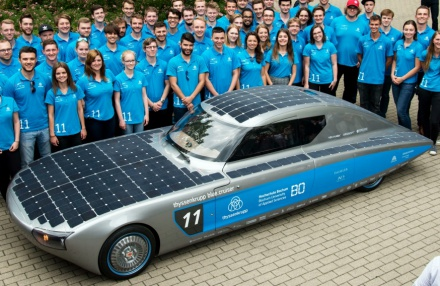 neues Solarauto