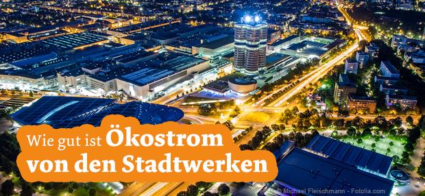 Ökostrom von den Stadtwerken