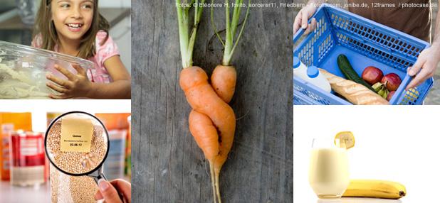10 Tipps für weniger Essen im Müll