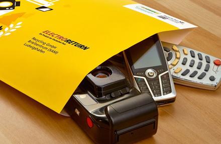 Handy entsorgen per Post