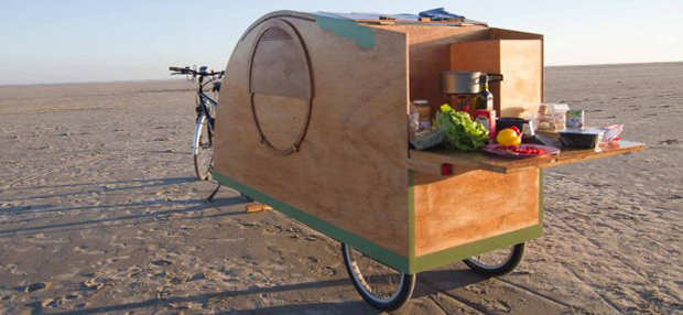 Fahrrad-Wohnwagen