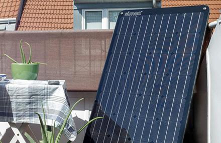 Balkon-Solarstrom