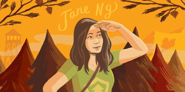 Illustration of Jane Ng