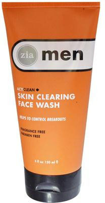 ZIA Men ActiClean Skin Clearing Face Wash