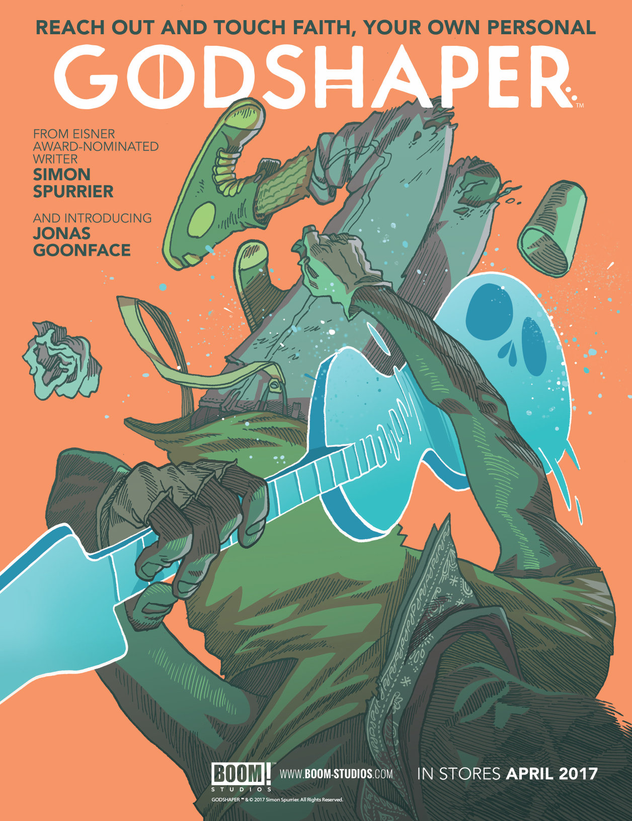 Godshaper #1 from Simon Spurrier and Jonas Goonface